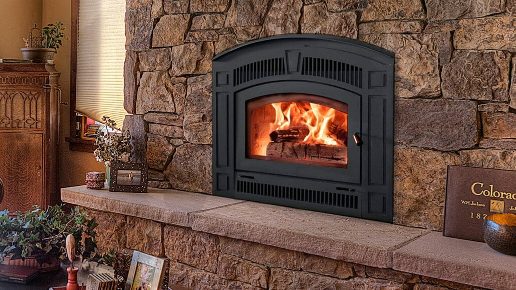 Wood fireplaces edwards and sons hearth and home for Back to back indoor outdoor fireplace