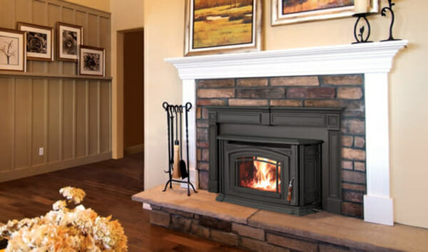 Boston 1200 Wood Fireplace Insert