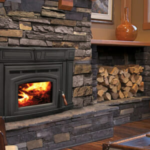 Cabello 1700 Wood Fireplace Insert