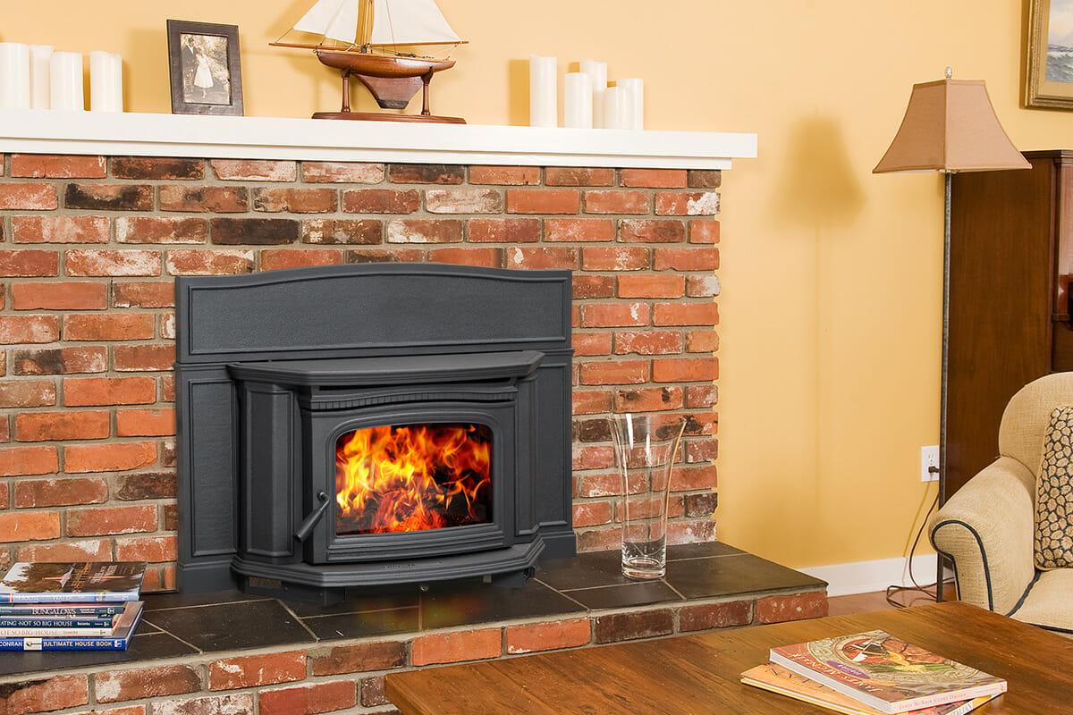 Alderlea T5 Wood Fireplace Insert Edwards And Sons