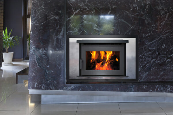 fp25 wood fireplace