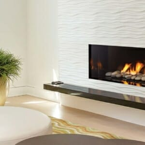 72 Power Vent Gas Fireplace