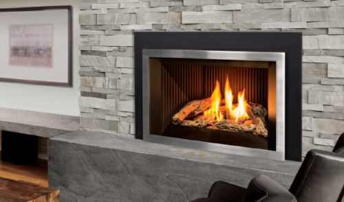 E33 Gas Fireplace Insert