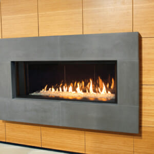 L1 Series with Decorative Glass, Reflective Glass Liner, 1 Inch Surround-X2