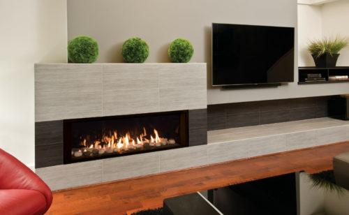 L2 Linear Series with Rock and Shale, Fluted Black Liner and 1 Inch Inch Surround-X3