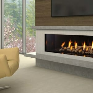 New York72 Gas Fireplace