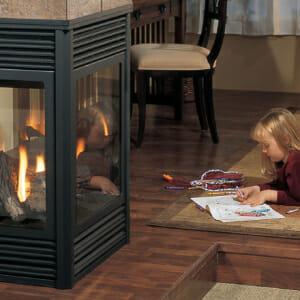 P131 Gas Fireplace