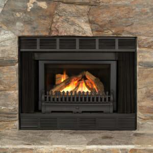 Retrofire with Traditional Fret-Logs-X2