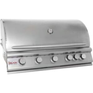 BLAZE 40 INCH 5-BURNER GAS GRILL WITH REAR BURNERvvvvvvvvvv